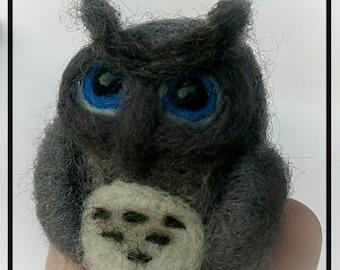 Owl / Needle Felted Owl Gift