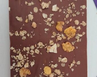 Orange Crunch Ganache Slab