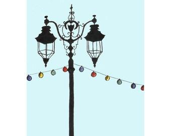 Strangled Lamp Post