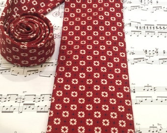 Hart Schaffer Marx Necktie, Vintage Men's Necktie, Men's Silk Necktie