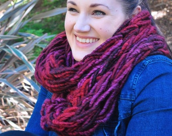 Berrylicious snuggle scarf