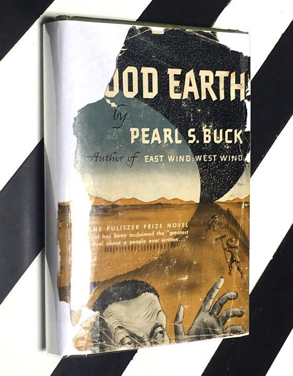 The Good Earth by Pearl S. Buck (1944) hardcover book