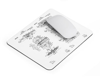Flying Machine Mousepad