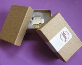 100 medium Kraft cotton filled boxes
