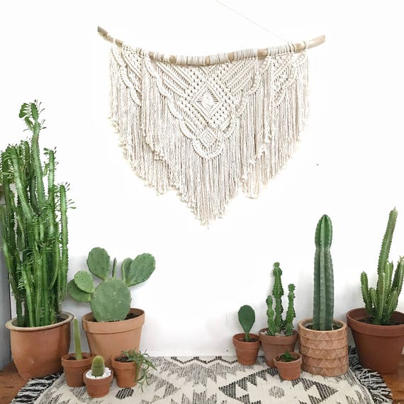 "Extra Large Macrame Wall Hanging ""Reverie"""
