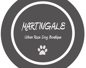 MARTINGALE Urban Rose Dog Boutique