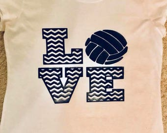 T-shirt ......I Love Volleyball
