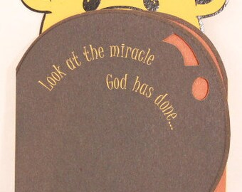 NEW! Religious Baby Boy by DaySpring . 1 Single Card with Envelope.
