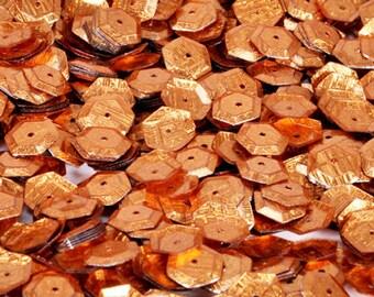 100 sequins METALLIC golden/KBPS538