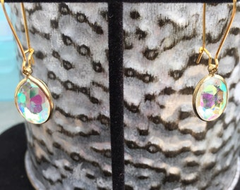 Teardrop Gem Dangles