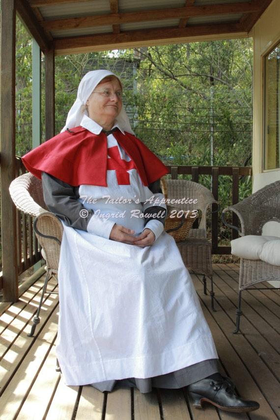 Size Pack B Size 14 16 18 Aans Wwi Nurses Uniform Dressmaking