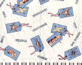 283 small Navy ornaments - paper towel