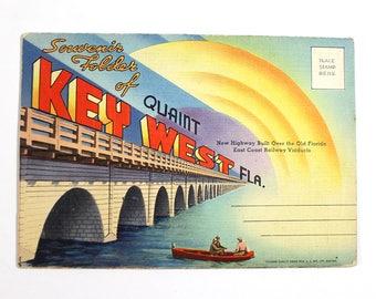 Vintage Key West, Florida Souvenir Folder