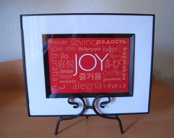 JOY Print - Size: 4.5 x 6.25 inches