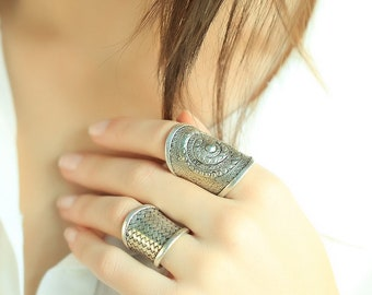 Boho Rigs Bohemian Rings Bohemian Jewellery Silvered Rings Fashion Rings