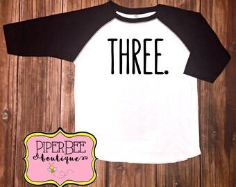 3rd Birthday Boy Outfit Third Birthday Boy Shirt 3 Year Old