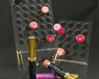 NEW, EASY,Clear, LipSense display.  large, medium or small, LipSense stand, LipSense display, SeneGence, Lipsence