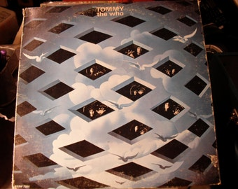 Tommy The Who Double Classic Lp on Decca 1st Rock Opera 1969 not really but give it to them