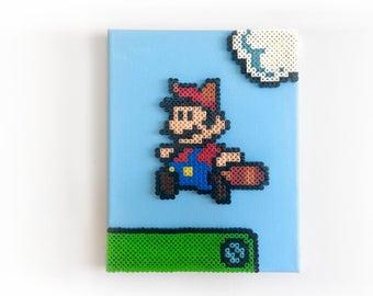 Super Mario Bros. 3 Perler Pixel Painting / Perlainting
