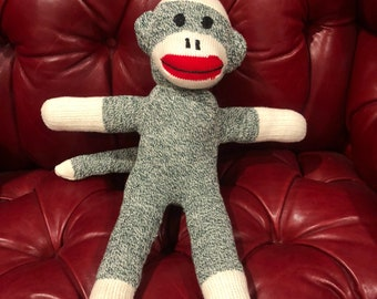 Hunter Green Sock Monkey