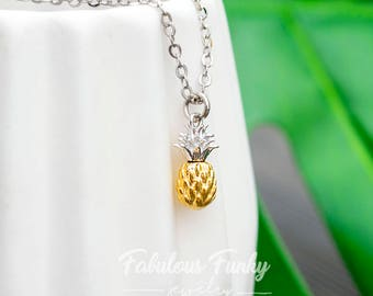 Pineapple Necklace-Two colors