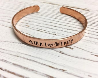 Personalized Cuff with Names