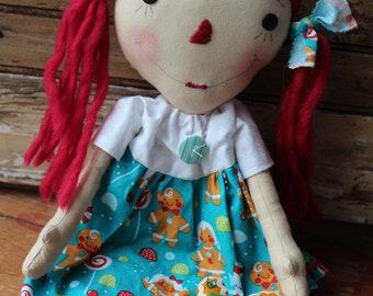 Raggedy Annie Gingerbread Candy and gum drops FAAP