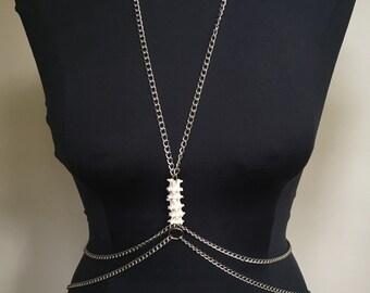 Snake Vertebrae Body Chains