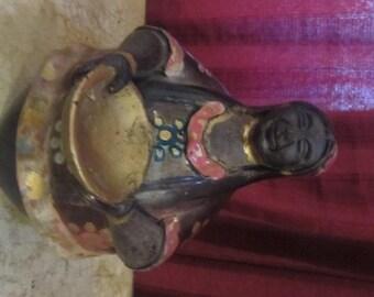 Robust Peruvian Lady figurine