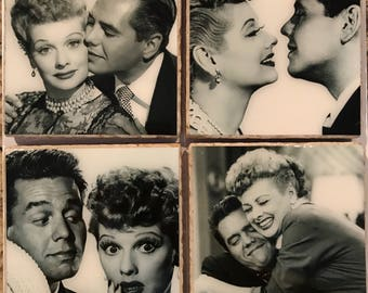 Lucille Ball/ I Love Lucy Coasters