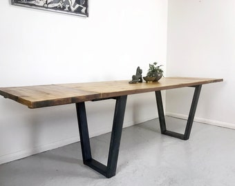 Industrial dining table  Etsy UK