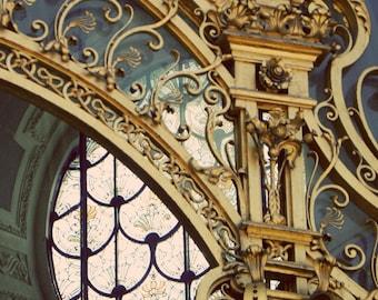 Paris-Petite Palace Art Nouveau Details-Fine Art Photography