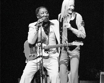 Muddy Waters with Johnny Winter, NYC 1977