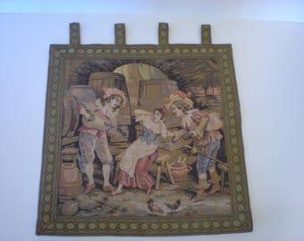 Vintage Tapestry Rosel Erzeugnisse Western Germany