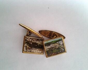 Vintage Rothmersay Cufflinks - Free postage