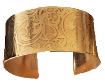 Textured Bronze Cuff