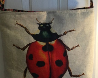 Ladybird Beach Bag Tote - Free P&P within the UK.