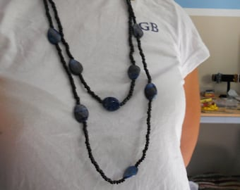 Lapis Lazuli Two Layer Necklace