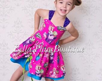 Pink Shopkins Poppy Dress
