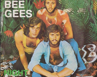 "BEE GEES Night Fever 1978 Portugal Rare 7"" 45 Vinyl Single Record Disco 70s Pop Gibb Unique Sleeve 2090272"