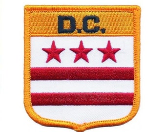 District of Columbia patch - D.C. (Iron on)
