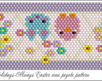 Happy Easter Pattern .PDF File