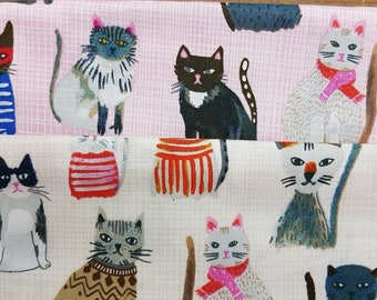 Windham Fabrics presents hot dogs + cool cats by Carolyn Gavin - Pattern No. #42080 © 100% Gots Certified Organic Cotton