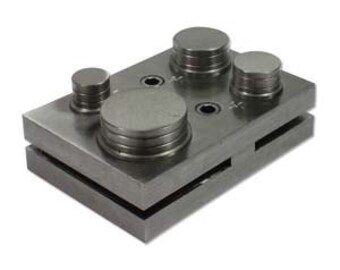 """Extra Large CIRCLE DISC CUTTER, Cuts 1' to 2"""" Discs, For Up To 16 Gauge Sheet Metal, Make Your Own Circle Blanks"""