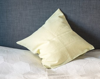 Pistachio Linen pillow cover, accent pillow case, linen pillow case, pistachio linen, decorative delicious pistachio pillow case