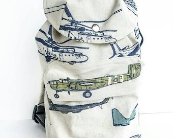 Toddler backpack, knap sack, camping bag, pretend play, toddler bag, duffle bag, boy backpack,  toddler carry on, airplane , rucksack
