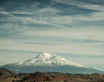 Mt Shasta Landscape California Art Print Art Photography by Sarah McTernen