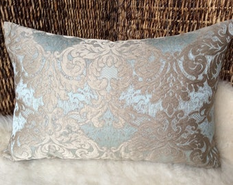 Cushion jacquard-Noble and elegant, high-quality designer fabric, cover pillow (21, 65x14, 56 inches)