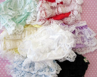 7 pair Doll Panties Rhumba Style Clearance Close Out lot Combine Orders to Save