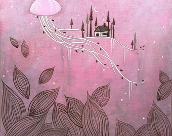 CLEARANCE - discontinued - moonage daydream - print